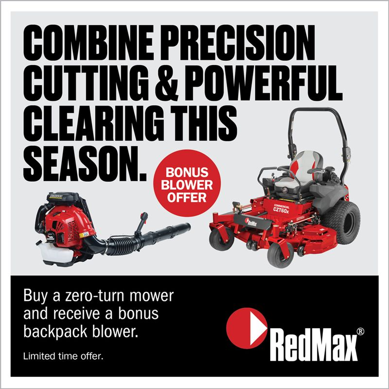 redmax blower promo