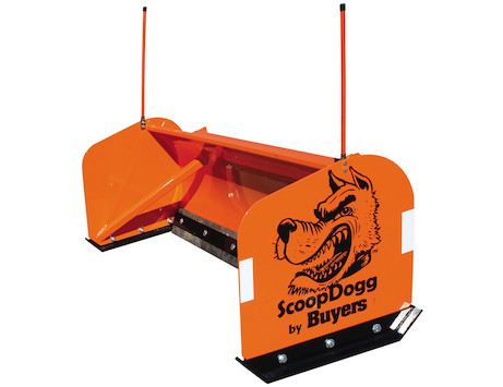 Scoopdogg Compact Snow Pusher - 10ft